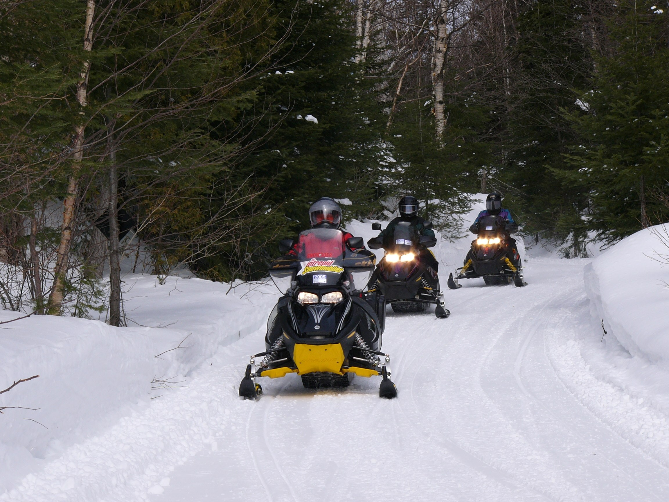 Snowmobile Ontario Canada Overview & Videos