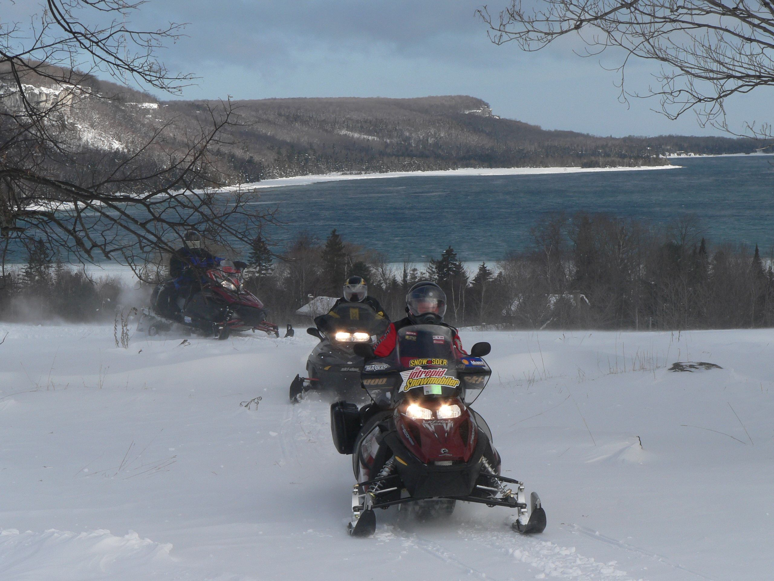 Snowmobile Grey Bruce Ontario Tour Planner
