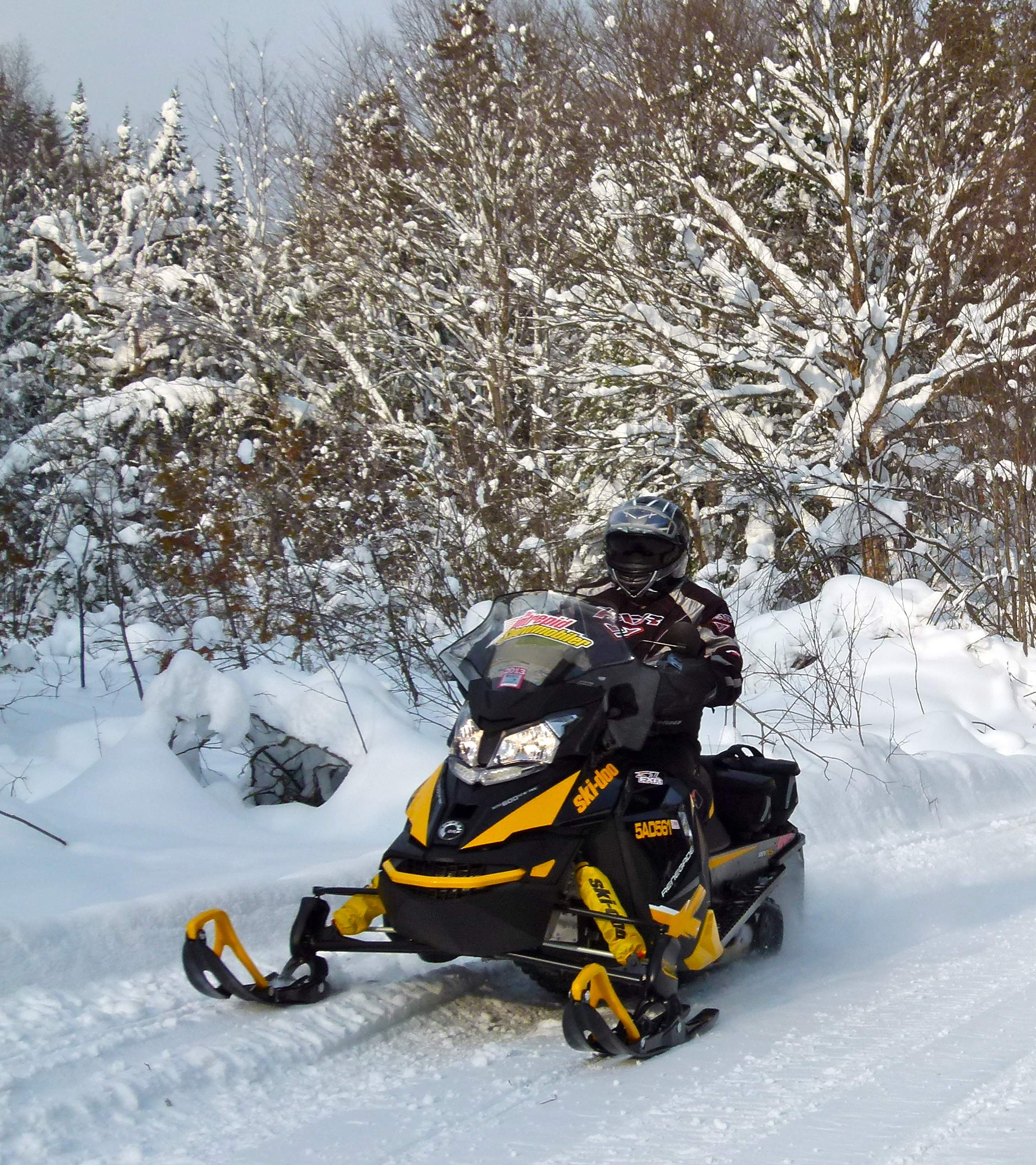 2013 Ski Doo Renegade X & Accessories