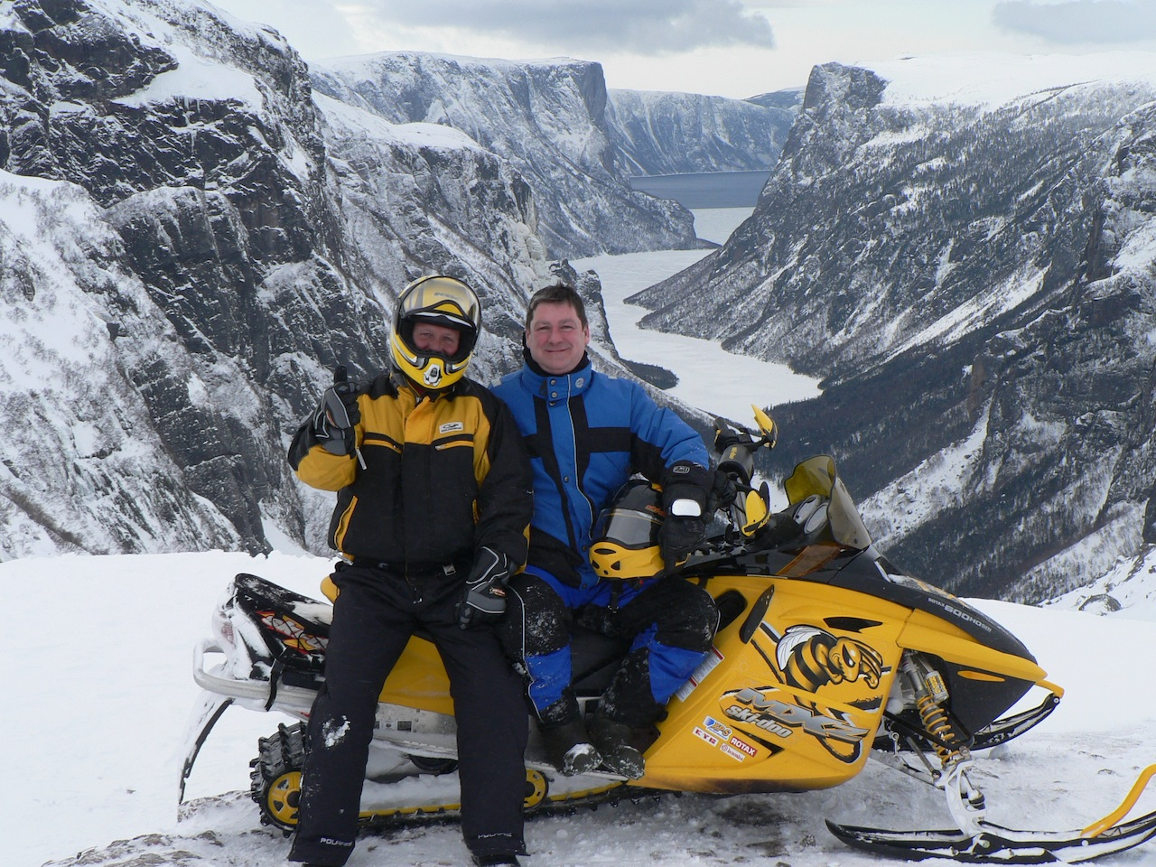 Snowmobile Western Newfoundland Tour