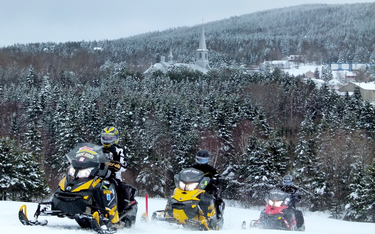 Rap Snowmobile Tour