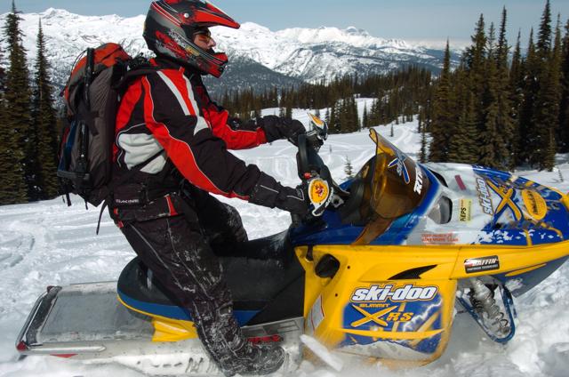 Snowmobile Revelstoke British Columbia Tour