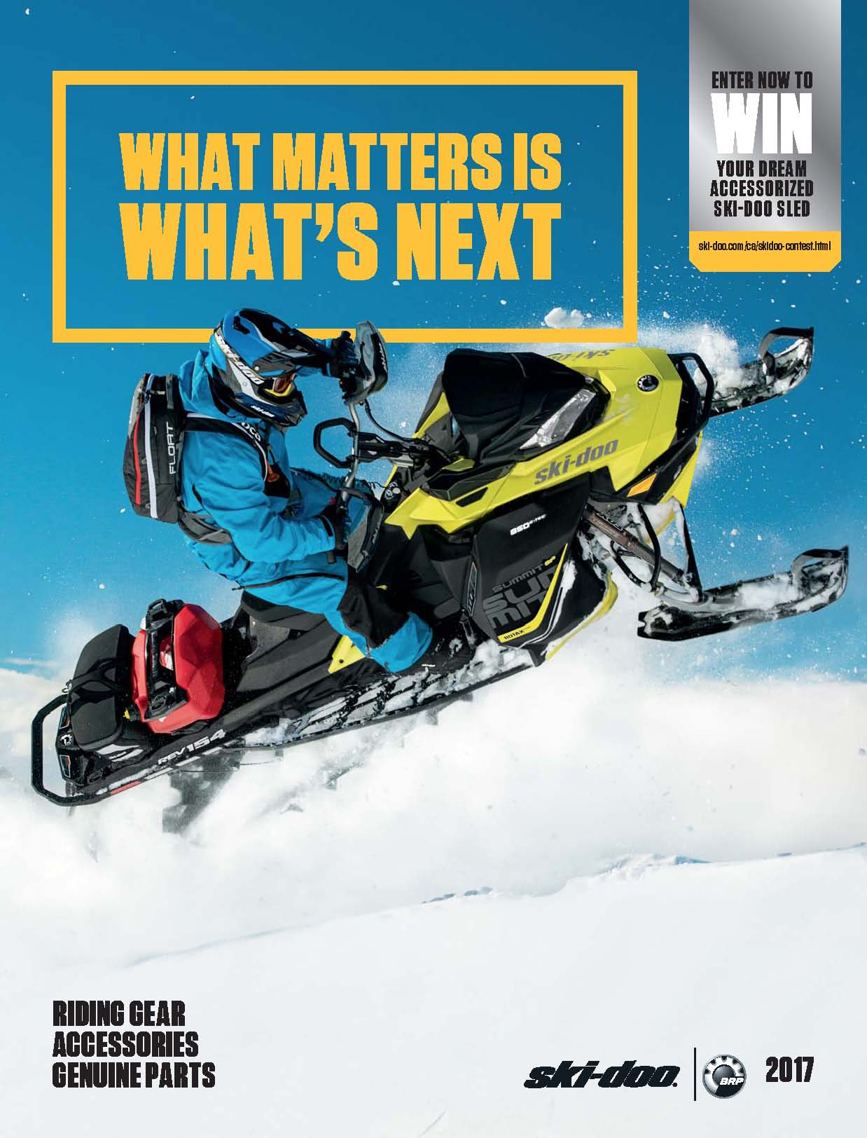 Riding Gear Accessories Best 2017 Catalogue From Ski-Doo
