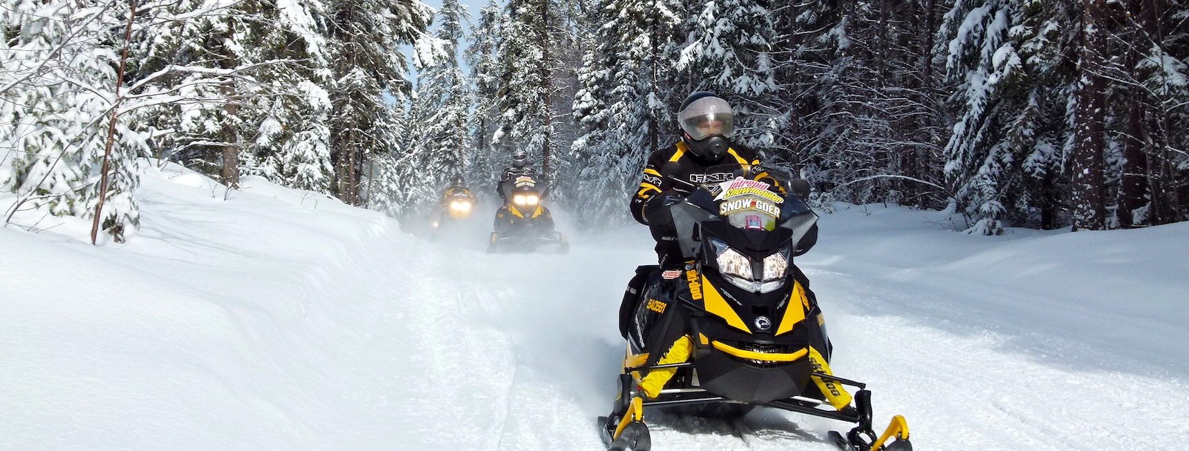Snowmobile Abitibi Témiscamingue Quebec Tour