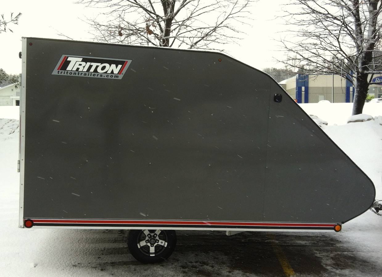 Triton Low Rider TC118 Snowmobile Trailer
