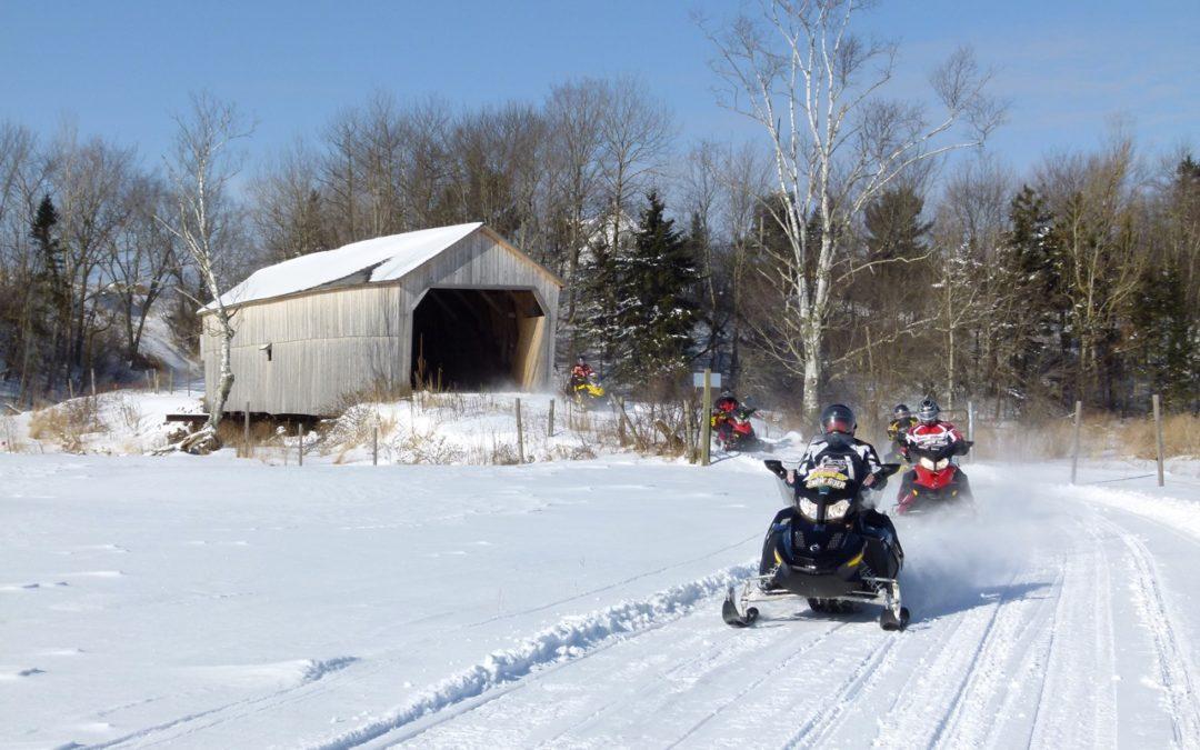 Snowmobile New Brunswick Canada Tour Planner