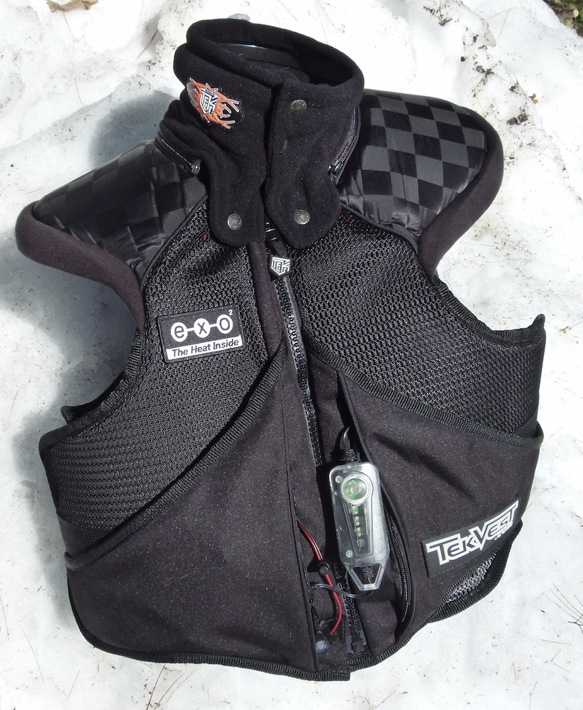 Heated Snowmobile TekVest For Body Warmth