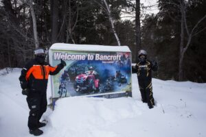 snowmobile bancroft ontario