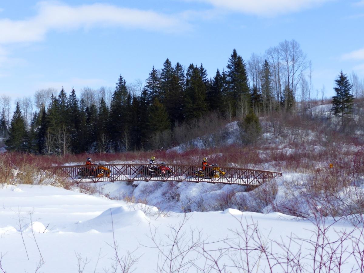 Snowmobile Northeastern Ontario Loops Planner