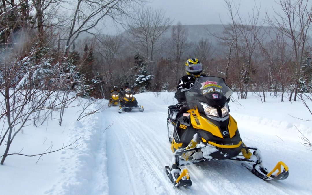Snowmobile Cape Breton Fundy Highlands Tour