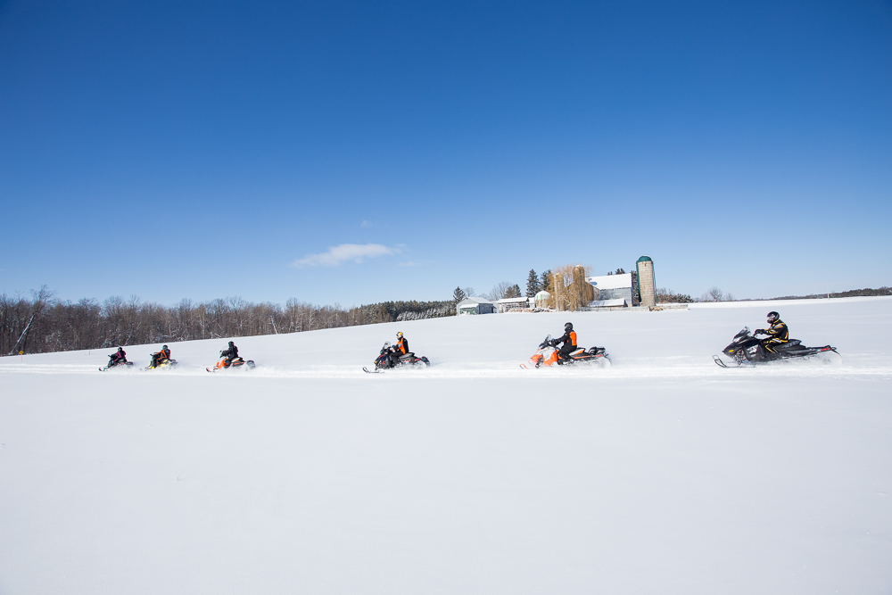 Grey Bruce Loops Ontario Snowmobile Tour