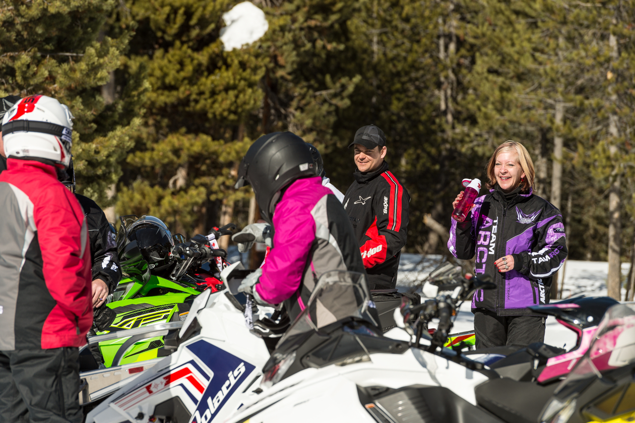 Things Snowmobilers Say on Snowmobile Tours