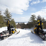 Bon Echo Loop Snow Tour Planner / Intrepid Snowmobiler