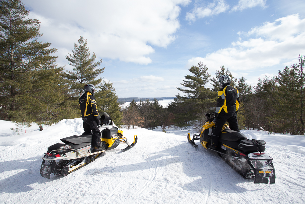 Bon Echo Loop Snow Tour Ontario Planner