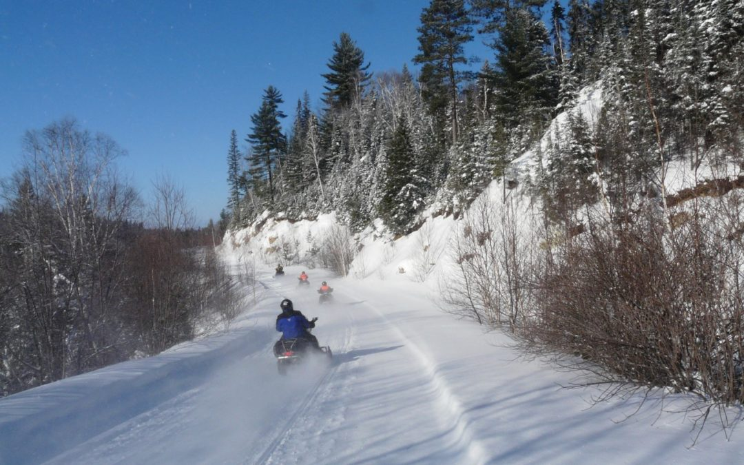 Snowmobile Sudbury Ontario Canada Tour