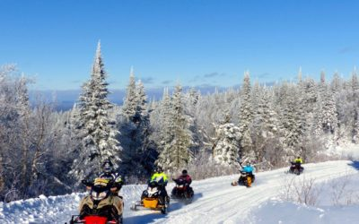 Mont Laurier Quebec Snowmobile Tour Planner