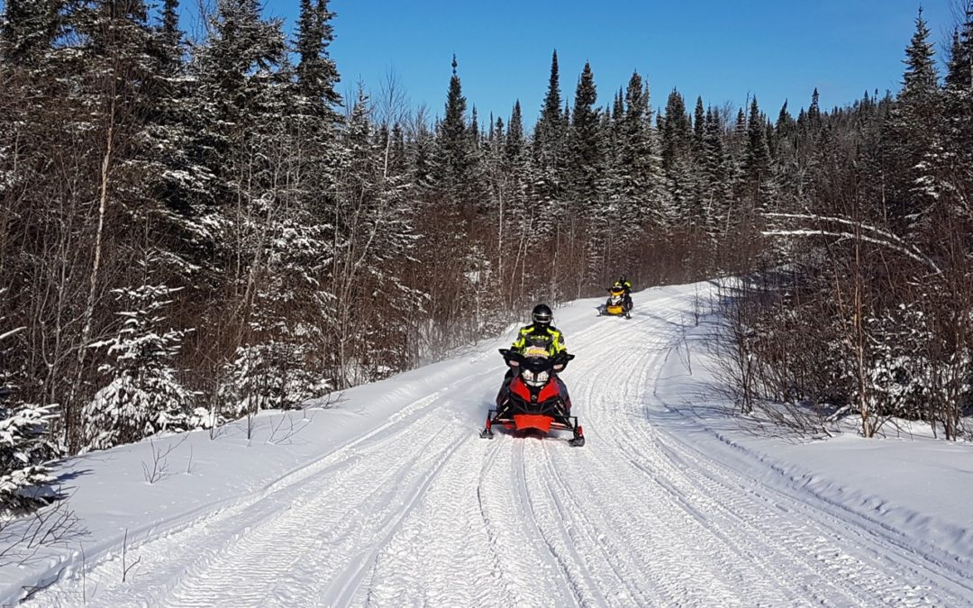 Ontario's Algoma Country Wilderness Snowmobile Tour