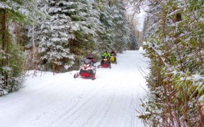Ontario Snowmobile Tour Destinations Top 5